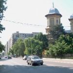 """Catedrala """"Sfântul Alexandru"""" - vedere dinspre Strada Dunării"""