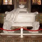 Sarcofagul domnitorului Alexandru Dimitrie Ghica aflat la Catedrala Sfântul Alexandru